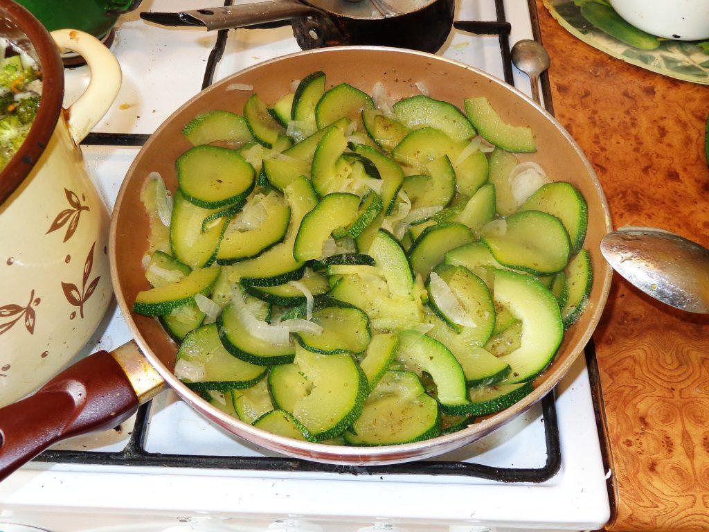 contorno di zucchine